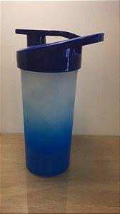 Squeeze Plastico Degrad Tampa Azul Marinho 500ml - Transfer Laser