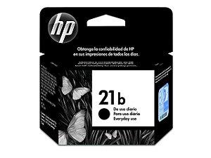 Cartucho de Tinta HP 21b Preto