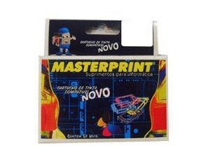 CARTUCHO HP MASTERPRINT 615/645 PRETO