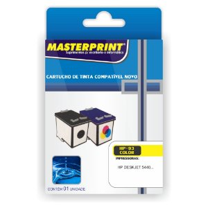Cartucho Masterprint 93 Colorido
