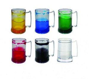 Caneca Gel Plástica 300ml Color