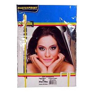 Papel Fotográfico Masterprint A3 108g 100 Folhas