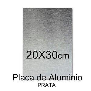Placa De Alumínio 20x30 Para Sublimação