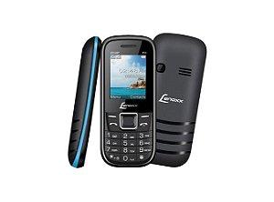 Celular Lenox CX 903 Preto e Azul