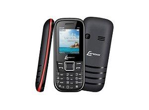 Celular Lenox CX 903 Preto e Vermelho