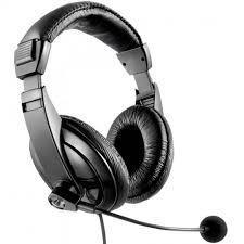 Headset Profissional Preto  Maxprint