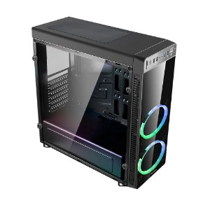 Gabinete C3tech G 1000 Bk Gamer