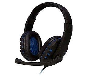 Headset Oex Hs 206 Bit Preto/Azul
