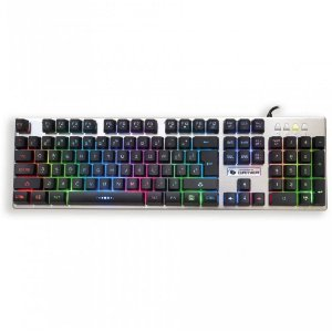 Teclado Leadership Gamer Aluminum