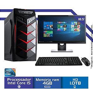 Computador Intel i5, Mem 4Gb, Hd 1Tb, Tela 18.5