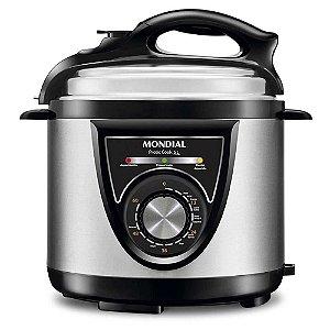 Panela de Pressão Mondial Elétrica Pratic Cook 5L