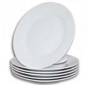 Prato Porcelana para Sublimação 24cm