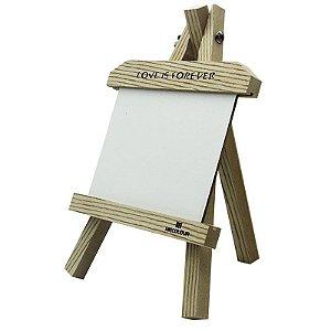 Cavalete Porta Retrato de MDF para Sublimação horizontal