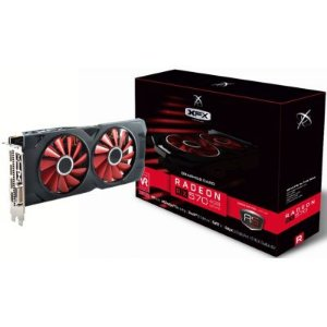 Placa de Video AMD RX 570 4GB RS BLACK EDITION DDR5 1286MHZ