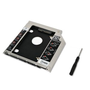 Case Adaptador Caddy Dvd Para Hd Notebook 12.7mm  Sata
