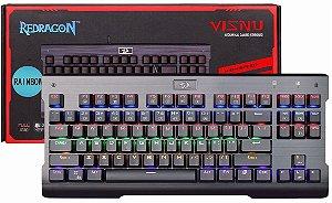 Teclado Redragon Visnu Mecânico RGB