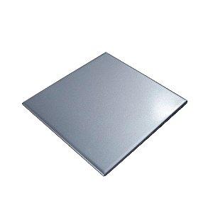Azulejo para sublimação prata 20x20cm