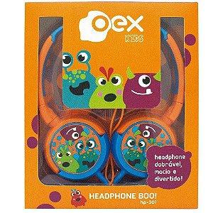 Fone Oex Infantil Boo! HP301