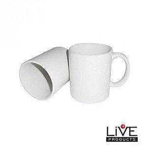 Caixa de caneca Porcelana Branca (50unds) IMPORTADA