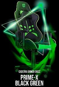 Cadeira Gamer Prime-X 2D Preto/Verde
