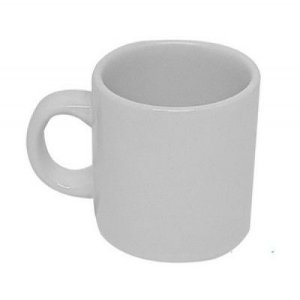 Mini Caneca Ceramica 100ml Branca Sublime