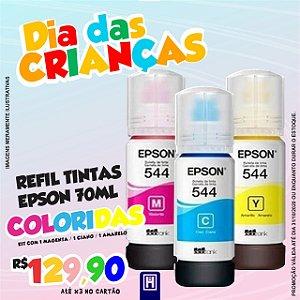 Kit Refil Epson Original Coloridos