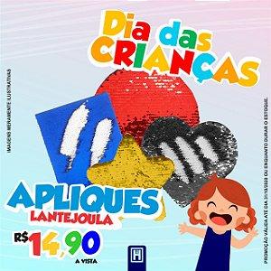 Aplique de Lantejoulas QUADRADO