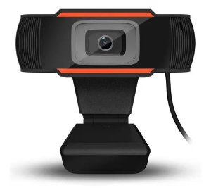Webcam Usb 720p Com Microfone