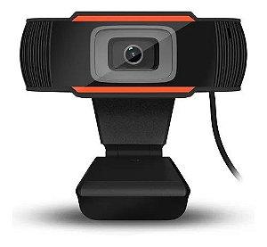 Webcam Usb 720p Com Microfone