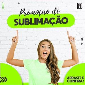 Caneca Porcelana P/ Sublimação Live 108 und