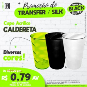 Caldereta Acrilica 180ml 10UND