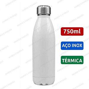 Garrafa Térmica inox 750ml Branco