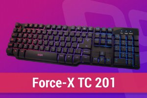 Teclado Gamer FORCE-X TC201