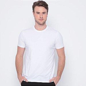 Camisa Básica Poliéster Branca TAM (GG)