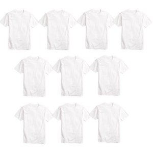 Camisa Básica Poliéster Branca TAM (G) 10UND