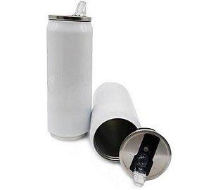 Squeeze Térmico Branco Latinha 500ml