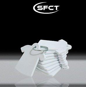 Chaveiro Camiseta Polimero SFCT - 10 Unidades