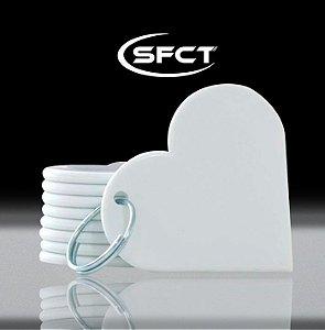 Chaveiro Coração Polimero SFCT - 10 Unidades