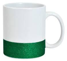 Caneca Glitter Base Verde