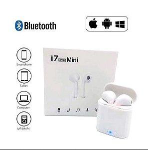 Fone De Ouvido Sem Fio Bluetooth I7