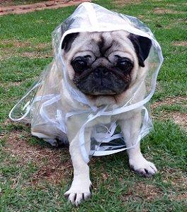 Capa de Chuva Para Cachorro