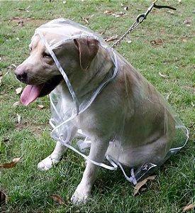 Capa de Chuva Cachorro Grande