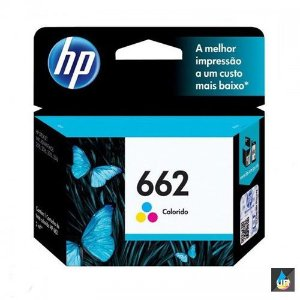 CARTUCHO HP 662 ORIGINAL COLOR -  CZ104AB- 2ML 1516,3015,3016
