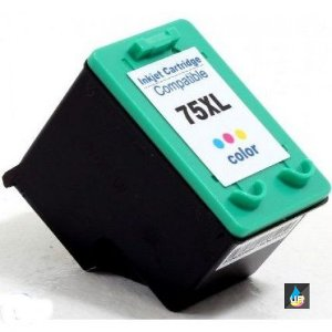 Cartucho de Tinta Compatível HP 75XL colorido,Deskjet 5780 C4280 C4480 D4260 C5280 .