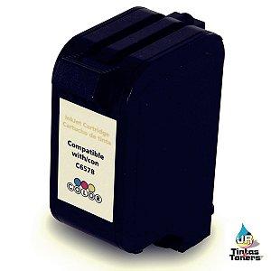 Cartucho de Tinta Compatível com HP 78 C6578DL Color HP 920C P1000 PSC720