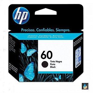 Cartucho HP 60 PRETO , D2530, D2545, D2560, F4240, F4280
