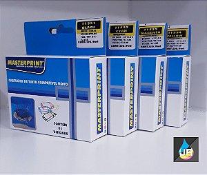 CARTUCHOS COMPATÍVEIS COM  EPSON TX 133,TX135,TX125,TX 25,TX235W ,TX420W,TX123 (UNID)