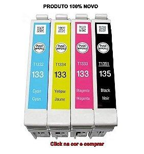 CARTUCHOS COMPATÍVEIS COM  EPSON TX 135,TX123,125