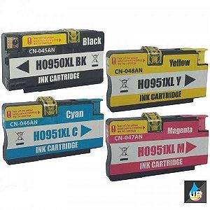 Cartucho Compatível com HP 951XL 951 CORES CN046A , HP 8600W, HP 8100