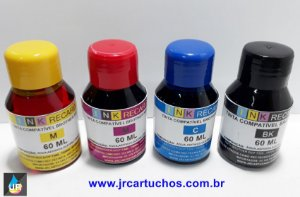 Refil de Tinta BT5001C Brother,DCP-T300, DCP-T500W, MFC-T800W e DCP-T700W. 60ml